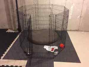 """MidWest Life Stages Exercise Pen with MAXLock Door (Black) - 42"""""""