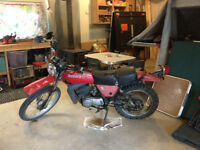 1976 KAWASAKI MOTOR CYCLE KNOBBY TIRES