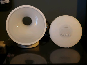 Phillips wake up light, two models
