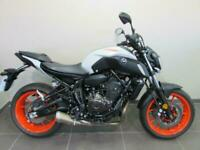 YAMAHA MT-07 ABS, 69 REG ONLY 142 MILES, 689cc CP2 TWIN CYLINDER NAKED BIKE.....