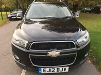Chevrolet Captiva 2.2 VCDI 4WD 7 SEAT LT 184PS (black) 2012
