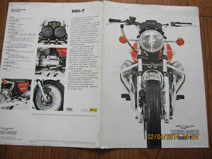 Moto Guzzi 850-T Spec Pamphlet (French)