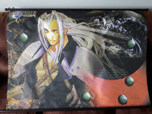 Final Fantasy 7 One Winged Angel Sephiroth Wall Scroll