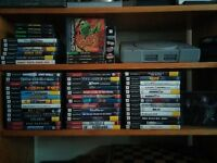 PS2 & PSOne Game lot, 50+ games, Gamesharks & PSOne Console