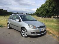2006 FORD FIESTA FREEDOM 1.25 PETROL, MANUAL, 3-DOOR***LONG MOT***FULL SERVICE HISTORY**DRIVES GREAT