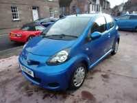 TOYOTA AYGO 998 cc blue 2010 Petrol Manual in Blue
