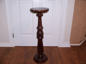 Plant/Lamp Stand 30 Inches Tall and Top is 9 Inches Across