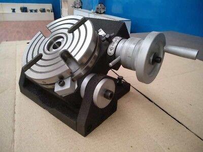 6 Precision Tilting Rotary Table Heavy Duty Mt2 Center Parttsk-150- New