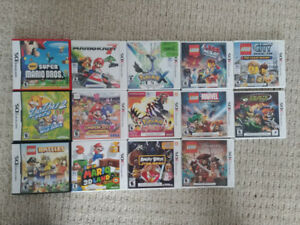 Lots of Nintendo DS and 3DS Games