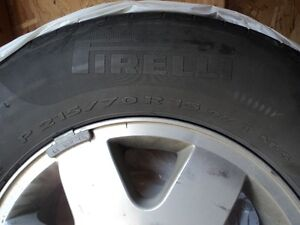 4 summer tires with mags in very good condition