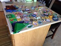 Girl Guide badges/traders