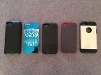 iPhone 5/5S battery case + skins/armour