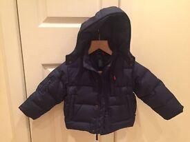 Ralph Lauren navy toddler jacket age 2