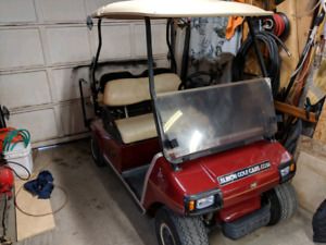 Club car golf cart electric with new batteries