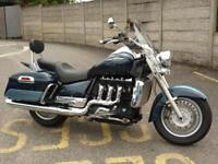 Triumph Rocket III Touring 2-Tone Blue 57 Plate 24245 Miles