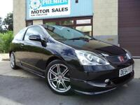 2004 (54) HONDA CIVIC 2.0i-VTEC TYPE R ( a/c ), ONLY 59,000 MILES FROM NEW!