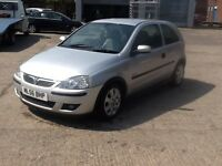 vauxhall corsa sxi 1229cc silver 56 plate 495 no offers swap for van