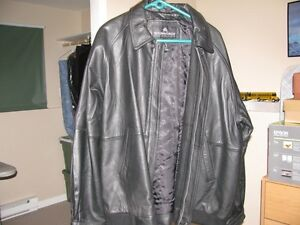 Brand New Mens Leather Jacket