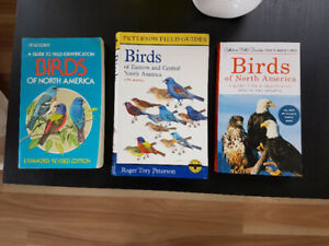 **** Bird Books Field Guides for sale ****