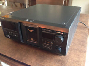 Sony 400 disc CD player