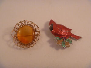Two Nice Brooches