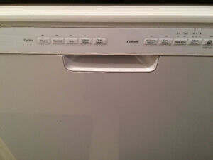 Whirlpool dishwasher - 1 year old - as new