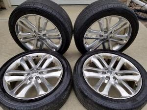 "Ford F 150 22"" OEM Rims +  Pirelli Scorpion Rubber"