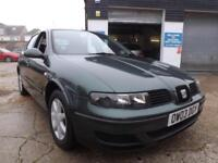 Seat Leon 1.6 16v 1595cc 2004 S 84000 MILES DRIVE AWAY TODAY!