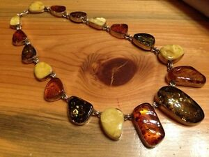 Amber Necklace, Pendants