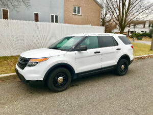 2013 Ford Explorer Police Interceptor Utility AWD