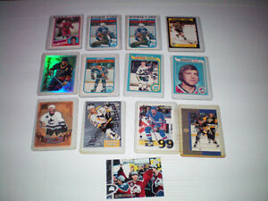 lot de cartes de hockey