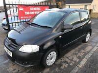 2007 VW FOX, 63000 MILES, 1 YEAR MOT, WARRANTY, NOT POLO KA CORSA FIESTA 207 MICRA