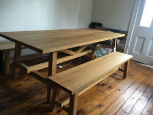 Solid Large Oak Table
