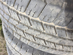 4 Goodyear Wranglers Mud and Snow tires
