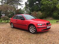 BMW 316ti SE Compact in Red 96000 miles