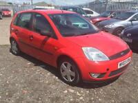 2003/03 Ford Fiesta 1.4 ( a/c ) Zetec FULL MOT EXCELLENT RUNNER