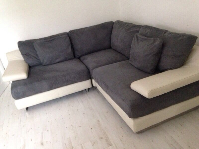 Grey sofa for sale excellent condition 350 in aberdeen for Gray sofas for sale