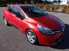 Renault Clio 1.2 16v ( 75bhp ) MediaNav 2013 Dynamique 65,000 miles
