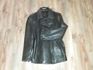 Women's Black Leather Jacket by Danier Leather