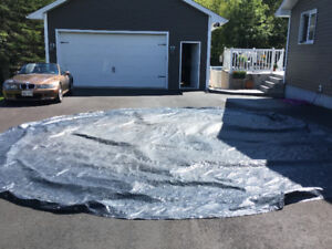 24 ft winter blanket for a pool