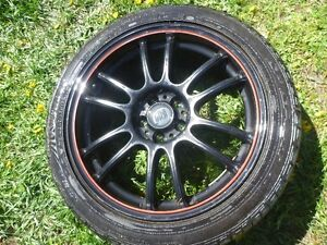 FRD RIMS and DUNLOP TIRES