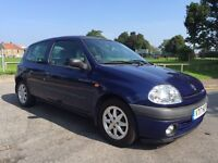 RENAULT CLIO 1.4 ALIZE WITH JULY 2017 MOT LOVELY CAR