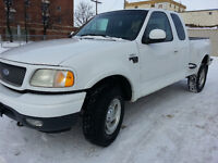 2000 FORD F150 SUPERCAB 4X4 STEP SIDE CLEAN CARPROOF SAFTIED