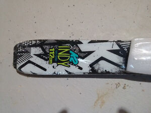 K2 Indy Kids Skis *NEW* 112cm Last Pair!