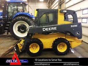 2014 JOHN DEERE 328E SKID STEER LOADER