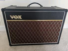 Vox AC15c1x with celestion Alnico Blue