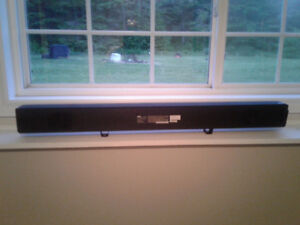RCA Home Theater Sound Bar Comes With Remote.