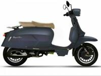 ROYAL ALLOY GP 125CC AC LEARNER LEGAL SCOOTER, LAMBRETTA VESPA STYLING