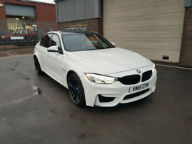 2015 15 BMW M3 3.0 F80 ( 425bhp ) M DCT AUTOMATIC ONLY 24K MILES WITH FSH