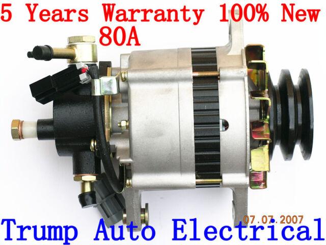 Alternator with Pump to Nissan Terrano R20 engine TD27 2.7L Diesel 97-00